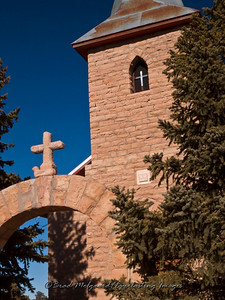 """Two Crosses""-San Juan Bautista-Duran, New Mexico (erected 1916)"