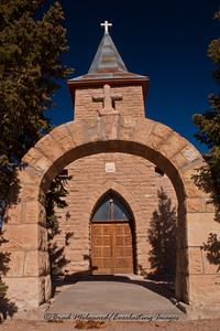 """Entrance Path""-San Juan Bautista-Duran, New Mexico (erected 1916)"
