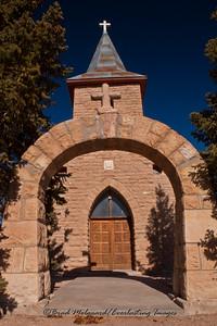 """Entrance Path""-San Juan Bautista-Duran, New Mexico (erected 1916)"