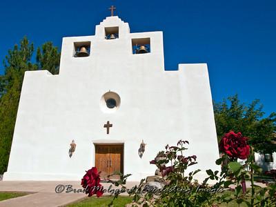 """""""Two Red Roses"""" / St. Francis de Paula - Tularosa, New Mexico"""