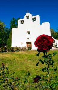 """""""Single Rose"""" / St. Francis de Paula - Tularosa, New Mexico"""