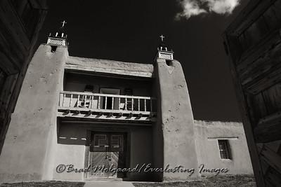 San Jose de Gracia Church; also known as Church of Santo Tomas Del Rio de Las Trampas. Built between 1760 and 1776.