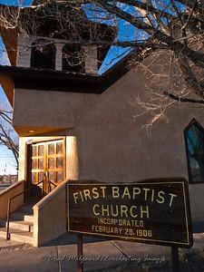 First Baptist Church-Carrizozo, New Mexico (est. 1908)