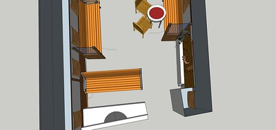 concept 3 unfinished cot pit area