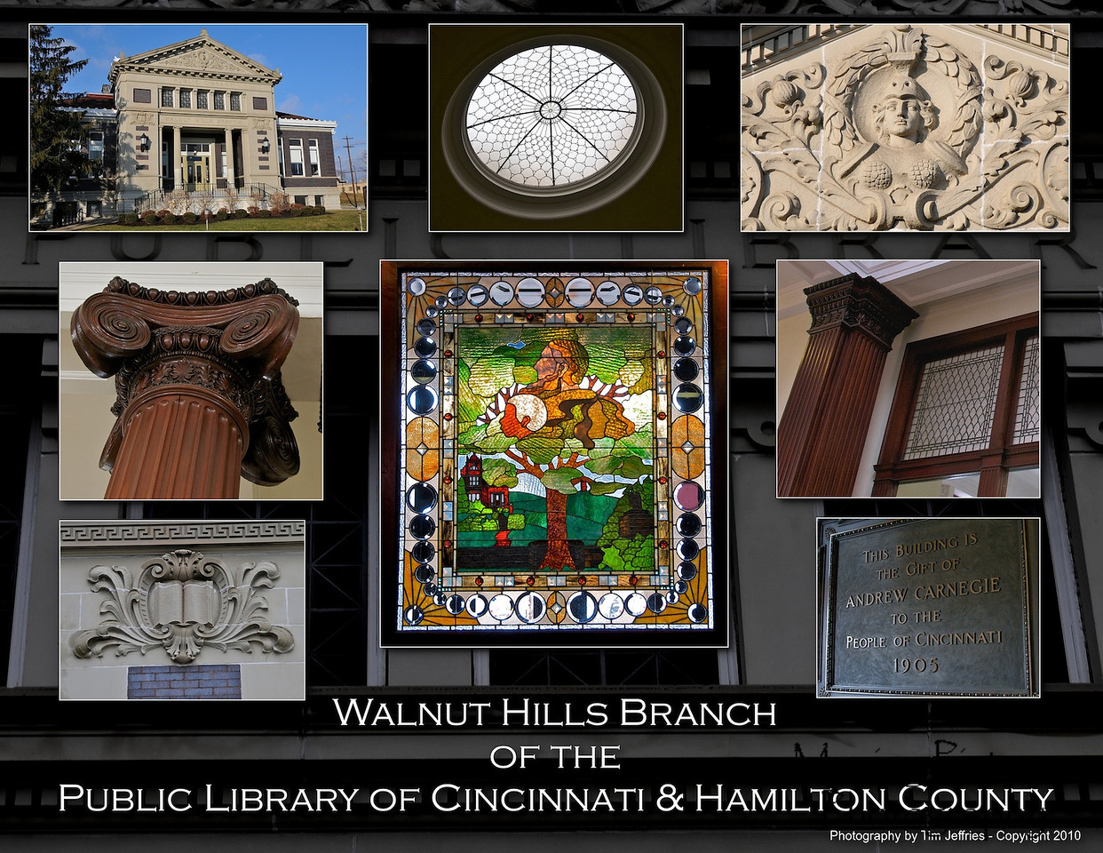 Carnegie Library - Walnut Hills - Opened April 7, 1906