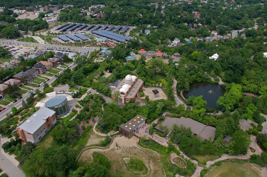 Cincinnati Zoo - total overview