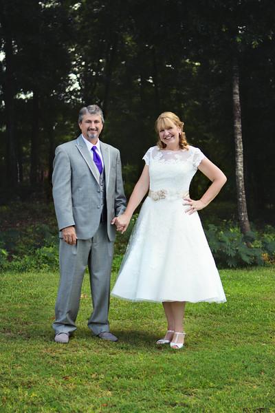 Cindy and Darren's wedding