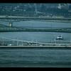 Three bridges across the Danube River, Budapest, Hungary.