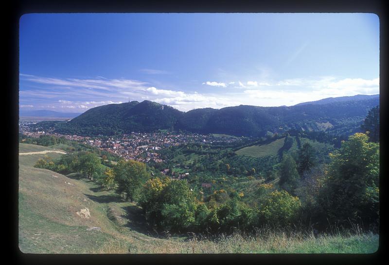 Brasov, Transylvania, Romania, on the road to the ski resort of Poiana Brasov.
