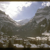 Grindelwald, Switzerland and Mt. Eiger.
