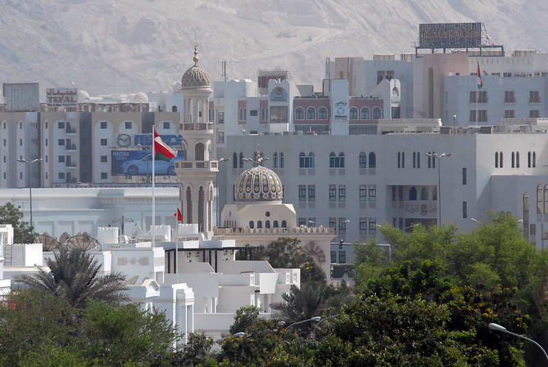 Business district, Muscat, Oman.