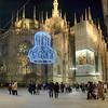 Milan, Italy at Christmastime HDR.