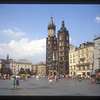 St. Mary's Church in Rynek Glowny, the Market Square, Krakow, Poland.