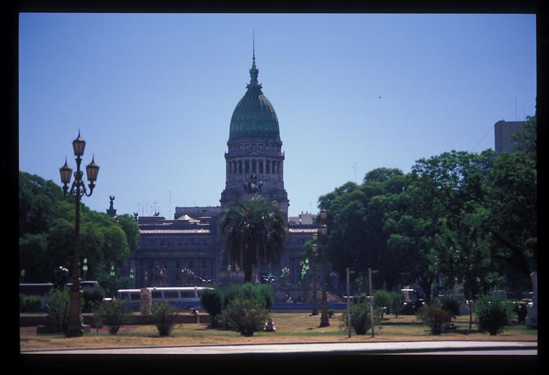 The parliament building, Buenos Aires, Argentina.