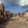 Central square, Bakhtapur, Nepal.