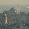 Istanbul, Turkey and the Sea of Marmara.