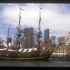 Tall ship in Sydney Harbor, Australia.