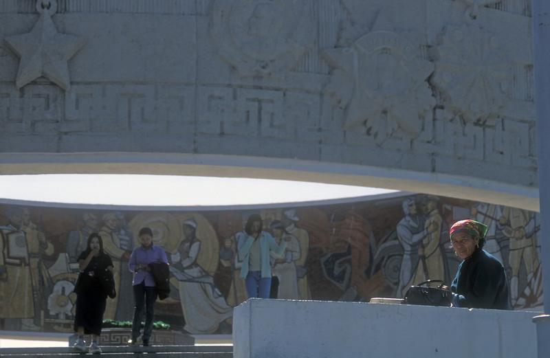 Zaisan monument to Soviet-Mongolian co-operation outside Ulan Bataar, Mongolia.