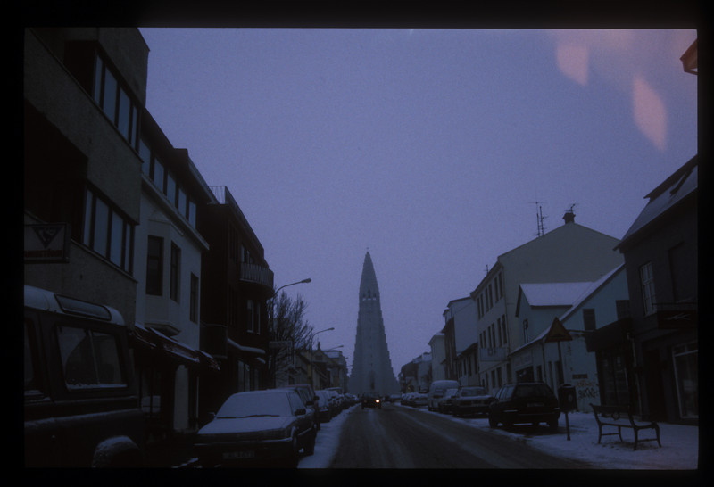 Hallgrim's church in Reykjavik, Iceland.