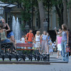 City park, Odessa, Ukraine.