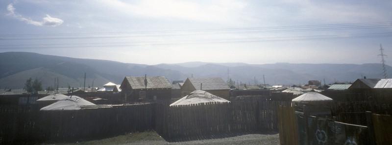 Suburban Ulan Bataar, Mongolia.