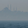 Mist on the Bosphorus Strait, Istanbul, Turkey.