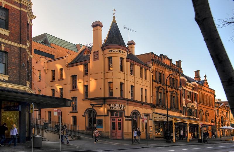 Sydney, Australia street.