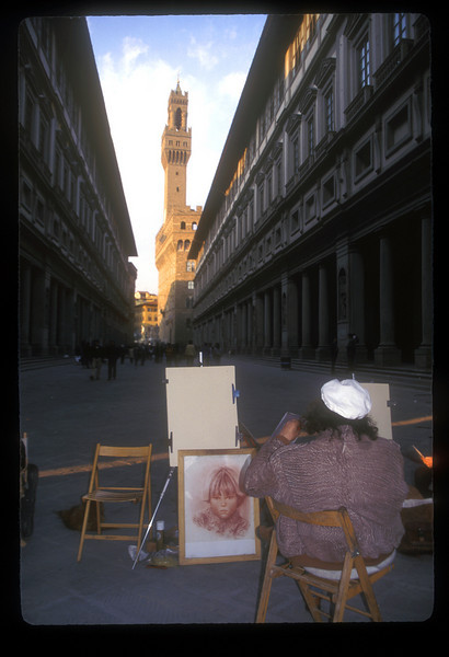 Artist, Florence, Italy.