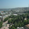 Baku, Azerbaijan and Caspian Sea from Above