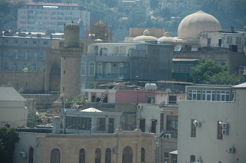 Detail of Baku, Azerbaijan
