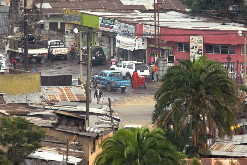 Street scene, Addis Ababa, Ethiopia.