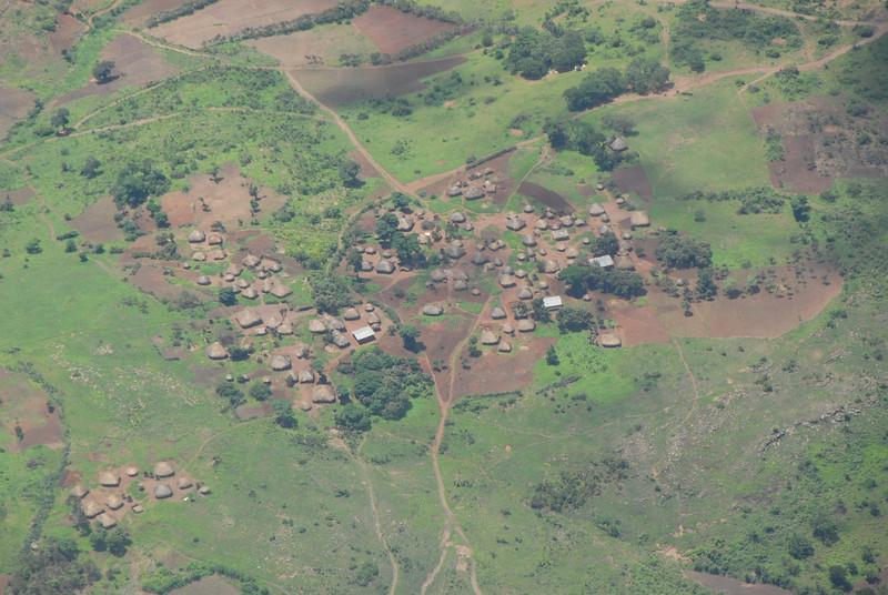 Village near Lilongwe, Malawi.