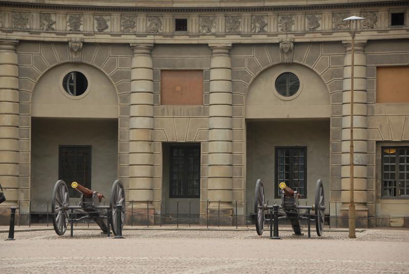 The Royal apartments, Gamla Stan, Stockholm, Sweden.