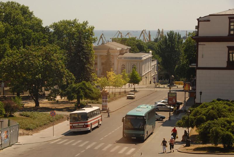 Odessa, Ukraine, and the Black Sea.
