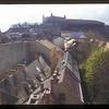 View to castle over Bratislava, Slovakia.