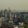 Skyline from Taksim Square, Istanbul.