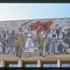 Detail of mural at National History Museum, Tirana, Albania.