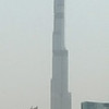 Burj Dubai, currently the world's tallest building due to be 2684 feet (707 m) on completion, Dubai, United Arab Emirates.