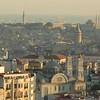 View across Istanbul, Turkey, to the Sea of Marmara.