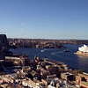 Sydney, Australia Opera House and Harbour Bridge.