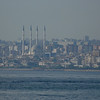 Istanbul, Turkey, Asian shore with mosque.