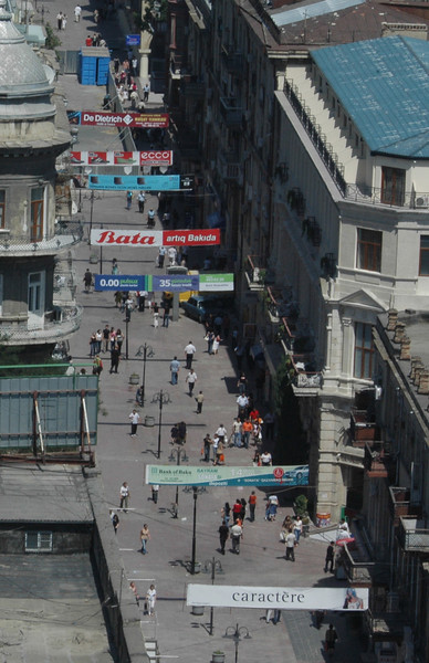 Pedestrian Mall, Baku, Azerbaijan