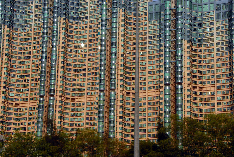 High rise housing, Kowloon, China.