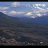 Village below Atlas mountains, Morocco.