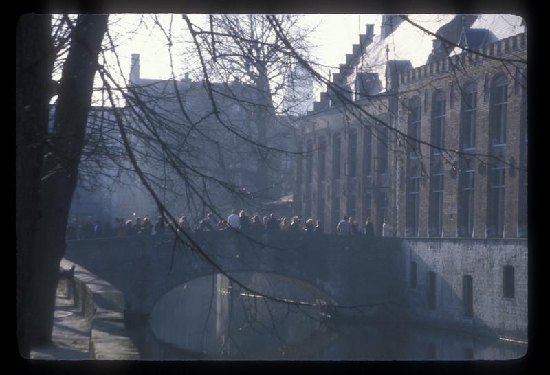 Bridge, Bruges, Belgium.