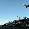 The airport's right in the middle of town in Broome, Australia.