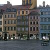 The rebuilt Jewish ghetto, Warsaw, Poland.
