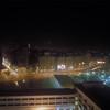 Cairo, Egypt skyline at night.