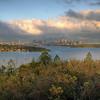 Sydney, Australia sunrise HDR, crop #2.
