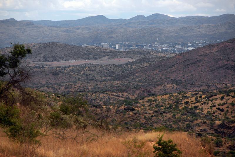 Windhoek, capital of Namibia.